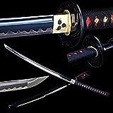 OYZ Handmade Japanese Katana Sword 1045 Carbon