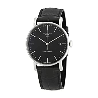 4bf3d800701 Tissot Unisex Everytime Swissmatic - T1094071605100 Silver Black One Size