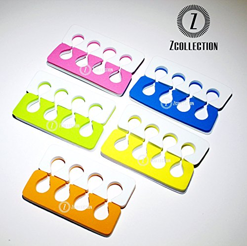 Toe Separators - Super Soft, Durable Two Tone 12 Packs ZCollection