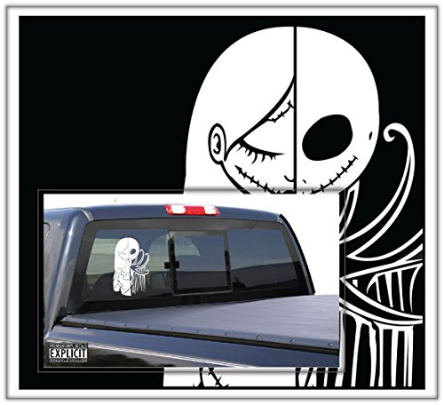 Jack and Sally Nightmare Before Christmas Large Vinyl Decal