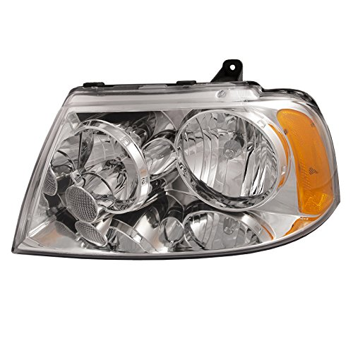 - HEADLIGHTSDEPOT Compatible with Lincoln Navigator Headlight Headlamp OE Style Replacement Driver Side New