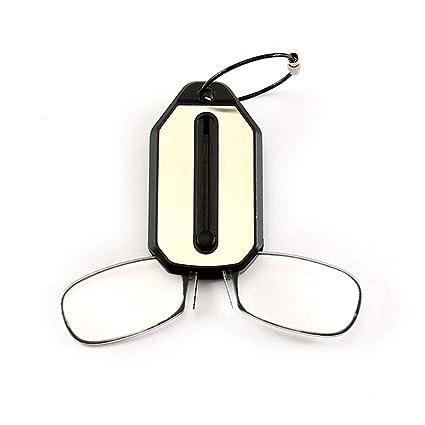 Yongqxxkj - Llavero unisex plegable con clip para la nariz y ...