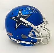 Deion Sanders Autographed Chrome Dallas Cowboys Helmet
