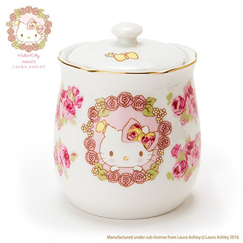 da16d1ad1 Hello Kitty Sugar pot Hello Kitty meets LAURA ASHLEY from JAPAN