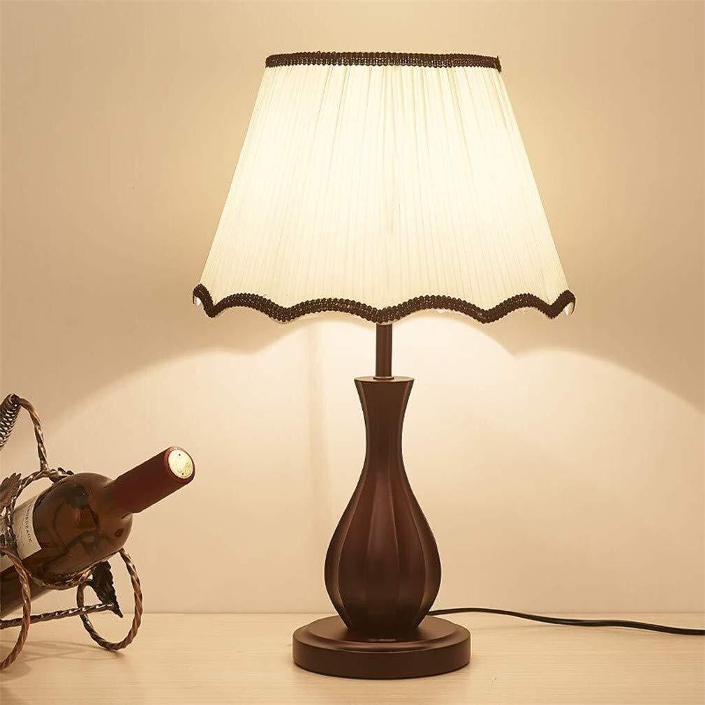 HAOXJ1 Can móvil lámpara de Mesa de Madera sólida Durable fácil de ...