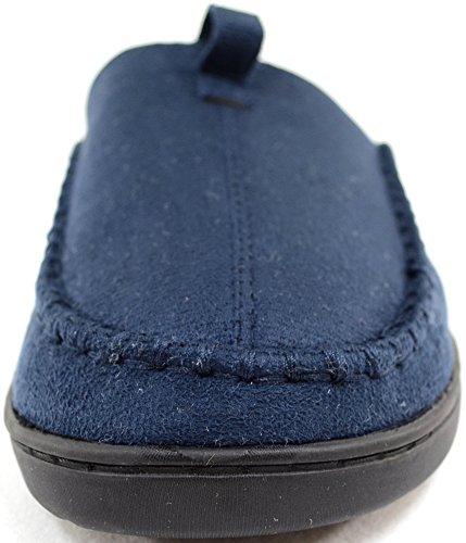 Mens Zachte Fleece Muilezels / Slippers / Indoor Schoenen Met Warme Nepbont Binnenlanders Marine