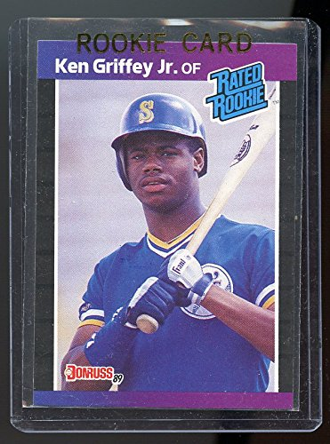- 1989 Donruss #33 Ken Griffey Jr Mariners Rookie Card - Mint Condition Ships in a Brand New Holder