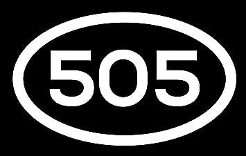 Amazon Com Dhdm 505 Area Code Sticker New Mexico