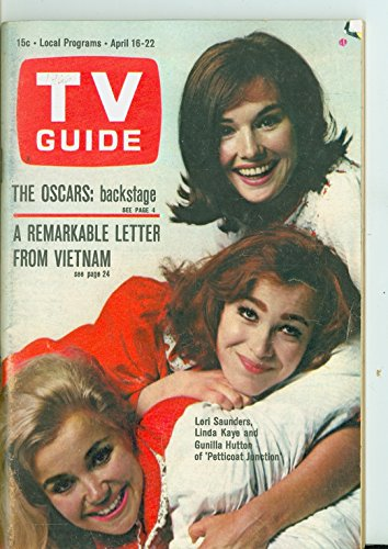 No Petticoat (1966 TV Guide Apr 16 Petticoat Junction - Northern California Edition NO MAILING LABEL Very Good to Excellent (4 out of 10) Used Cond. by Mickeys Pubs)