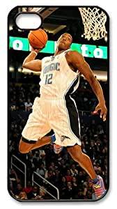 icasepersonalized Personalized Protective Case for iphone 4 - NBA Sports Orlando Magic #12 Dwight Howard Dunk