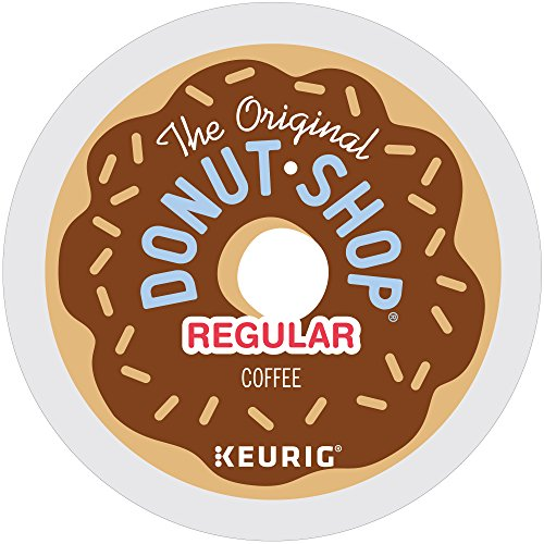 Coffee Pods (The Original Donut Shop Regular Keurig Single-Serve K-Cup Pods, Medium Roast Coffee, 12 count, Pack of 6)