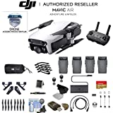 Artic White DJI Mavic Air Quadcopter Drone 4 Battery Bundle With Warranty