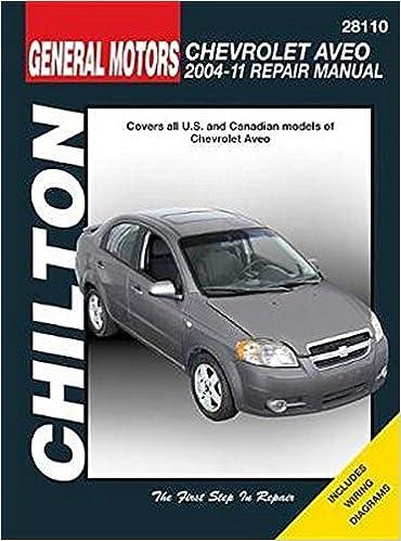 manual chevrolet aveo 2004
