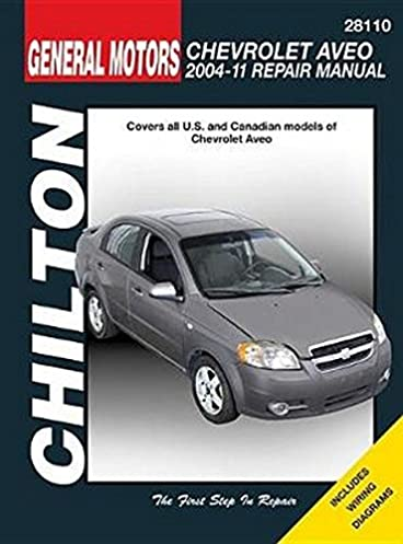 chevrolet aveo 2004 2011 chilton automotive haynes publishing rh amazon com Haynes Auto Repair Manuals Chilton Auto Repair Manual Online