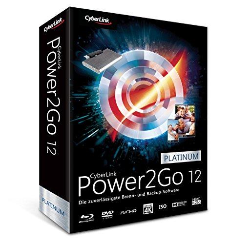 Cyberlink Power2GB 12 Platinum volledige versie, 1 licentie voor Windows back-up software