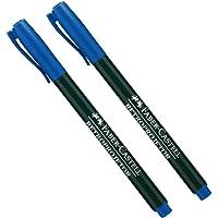 CD/Retroprojetor Ponta Media 12 Unidades, Faber-Castell, Azul