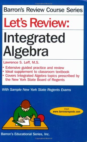 Let's Review: Integrated Algebra (Let's Review Series)