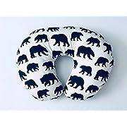 Nursing Pillow Cover - Black Bears
