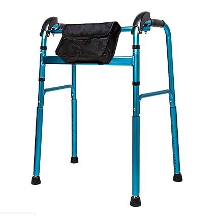 SXRL Andador De Aluminio Con Para Ancianos, Altura Ajustable ...