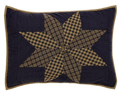 Navy Star Standard Sham 21x27
