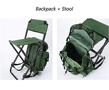 Tz ted sac À dos tabouret chaise pliante extérieure portable