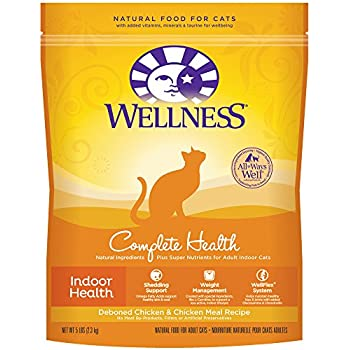 Wellness trufood baked blends natural grain free dry cat food wellness complete health natural dry cat food indoor deboned chicken chicken meal recipe 5 pound bag forumfinder Images