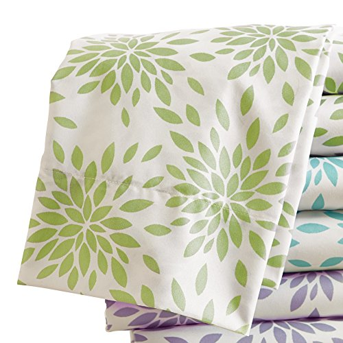 Floral Burst Sheet Fitted Pillow
