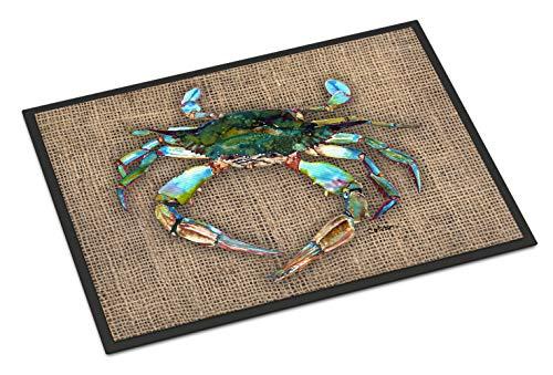 "Caroline's Treasures 8731JMAT Crab Indoor or Outdoor Doormat, 24"" x 36"", Multicolor from Caroline's Treasures"