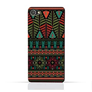 AMC Design Alcatel A5 LED TPU Silicone Protective Case with Ethnic Grunge Neon Pattern