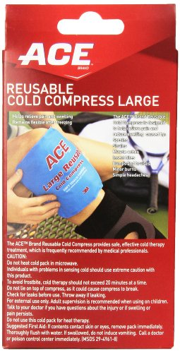 ACE Reusable Cold Compress, Large, 1 Count