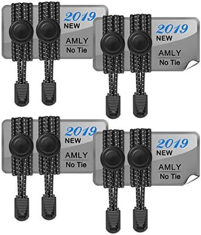 AMLY Elastic Shoelaces Upgraded Reflective product image
