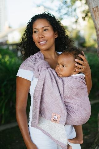 Baby Tula Tencel Blend Ring Sling - Lexington Lilac L/XL