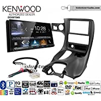 Volunteer Audio Kenwood DDX9704S Double Din Radio Install Kit with Apple Carplay Android Auto Fits 1997-2004 Corvette