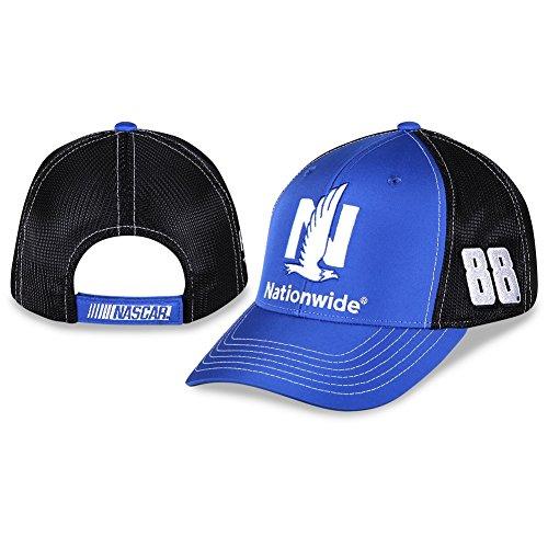 NASCAR Adult-Driver/Sponsor-Performance-Mesh Back-Adjustable Hat/Cap-Dale Earnhardt Jr. #88-Nationwide