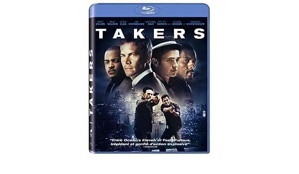 Takers Francia Blu Ray Amazon Es Matt Dillon Paul Walker