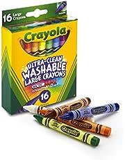 Crayola Large Washable Crayons, 16ct
