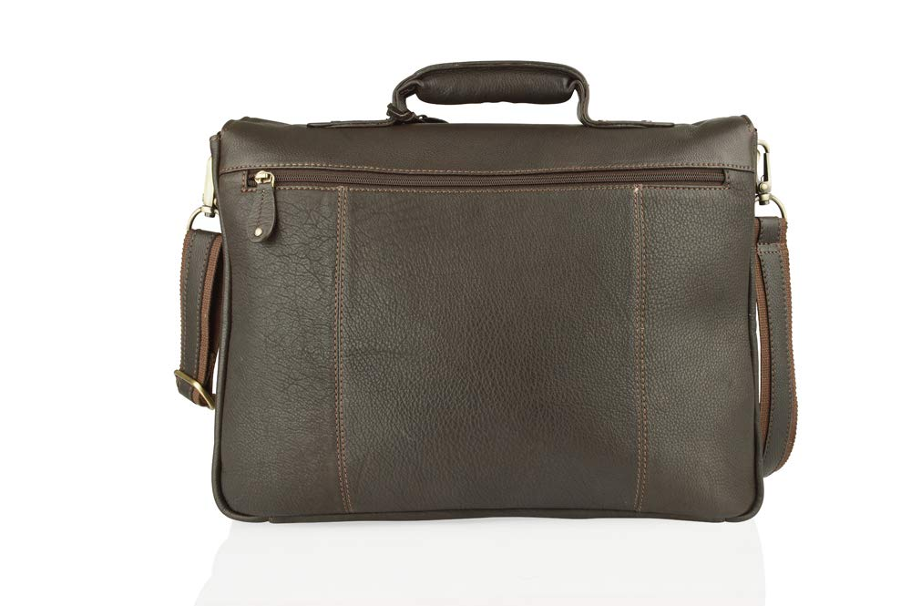 Mallette Woodland Leather BR87846/_Parent Marron - BR87846/_Brown Marron