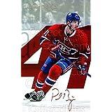 Paul Byron Hockey Card 2016-17 Montreal Canadiens Postcards #2 Paul Byron