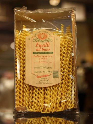 Rustichella d'Abruzzo Fusilli col Buco, 17.6 oz (Cybercucina Pasta)