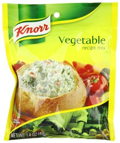 Knorr Vegetable Soup Mix (Knorr Vegetable Recipe Mix 1.4 Ounce Packet (Pack of 3))