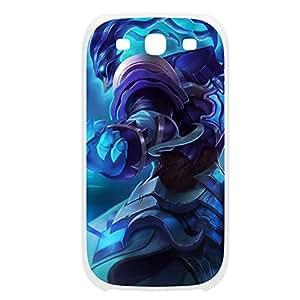 Thresh-003 League of Legends LoL case cover Samsung Galaxy Note2 N7100/N7102 Plastic White
