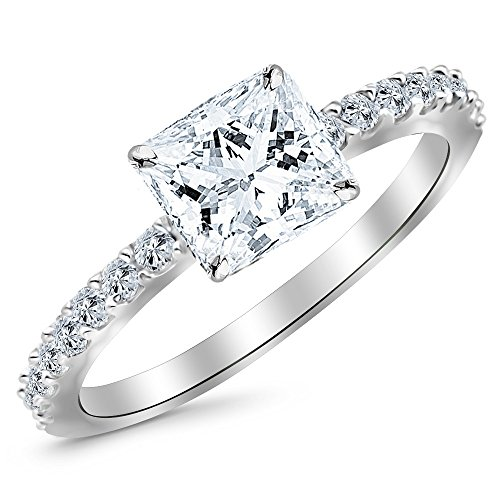 0.5 Ct Side Stone - 2