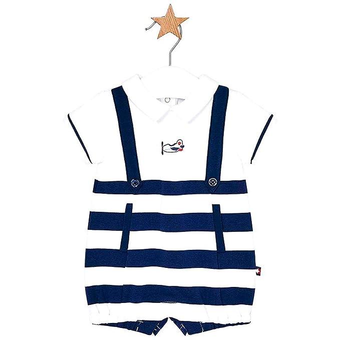 Mayoral Pelele Peto Corto Navy Bebe niño: Amazon.es: Ropa y ...