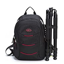 G-raphy DSLR Camera Sling Backpack Single Shoulder Bag for Camera Lenses Laptop Tablet Photography Tripod