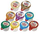 Coffee-Mate Creamer Singles (0.375 Fl Oz Each), 9 Flavors x 24 each, 216 Count Bulk Package