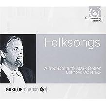 Folksongs. A.Deller, M.Deller, D.Dupré