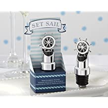 "Kate Aspen ""Set Sail"" Ship Wheel Pourer, Silver"