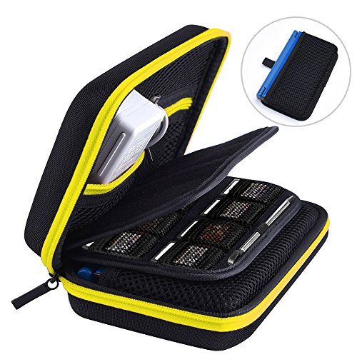 (Austor Hard Travel Carrying Case for Nintendo New 3DS XL, Yellow)