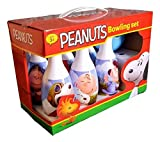 Peanuts Bowling Set with Charlie Brown, Snoopy and the Whole Gang