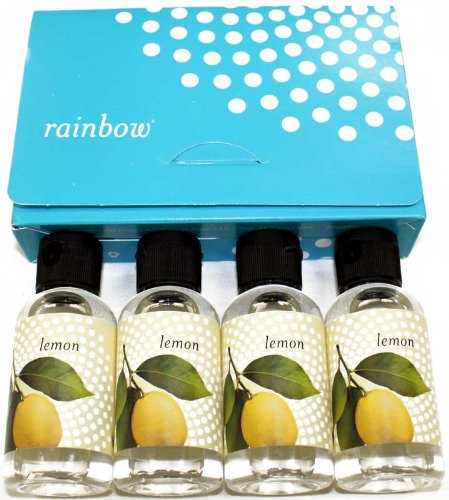 Rainbow Rexair Vacuum Cleaner Water Fragrance Lemon Scent R-14937, 4 pack, Each 1.67 OZ